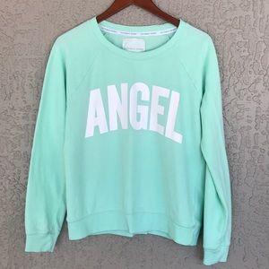 Victoria's Secret, Angel, pullover sweatshirt.